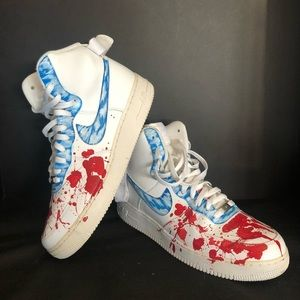 Nike Shoes Air Force 1 High Top Custom Poshmark